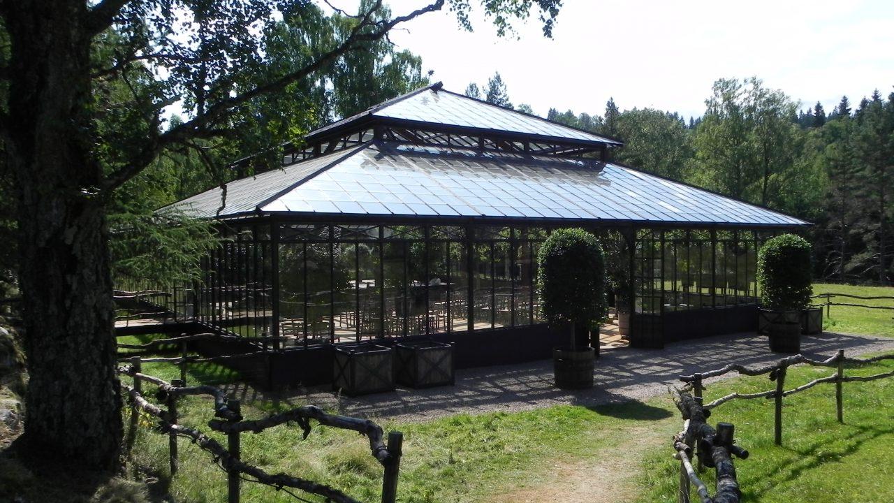 Orangeri i stål