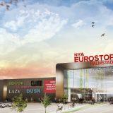 Eurostop Halmstad stålbyggnad