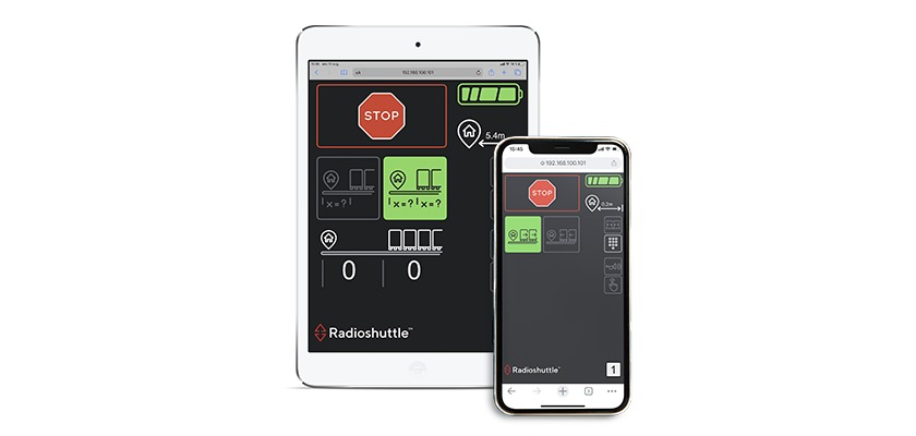 Radioshuttle connect ipad and iphone