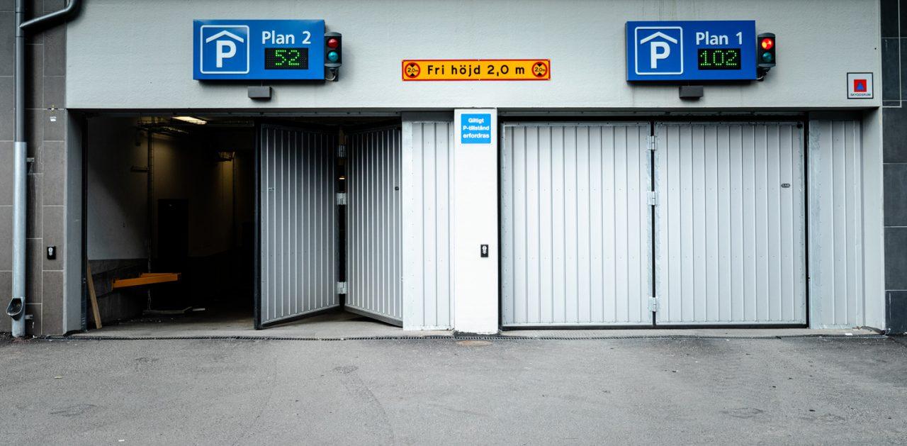 portar parkeringsgarage